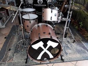 Drumset Kärbholz